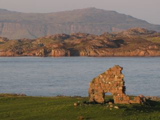Looking across the Sound of Mull from Iona